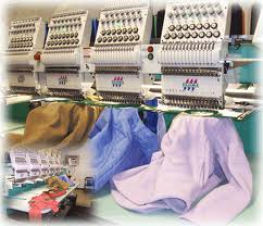 We use state of the art industry leading Tajima Embroidery Machines